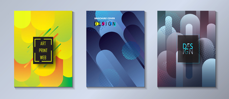 Abstract Minimal Design brochure, poster and banner Ilustrace
