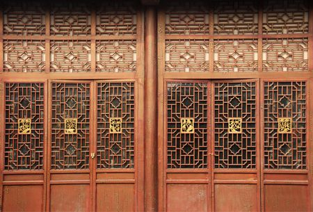 chinese traditional door