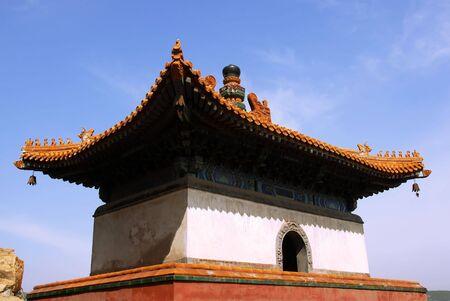 stupa in summer palace of Beijing