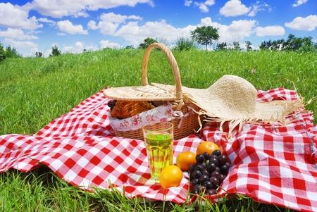 picnic 写真素材