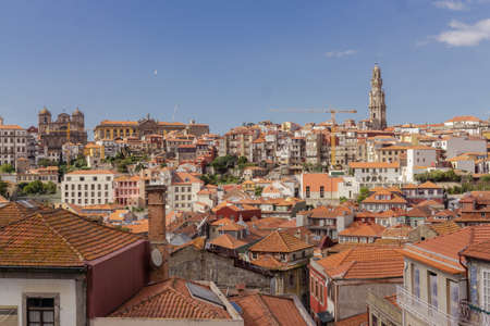 View of Porto Old Town, Portugal.