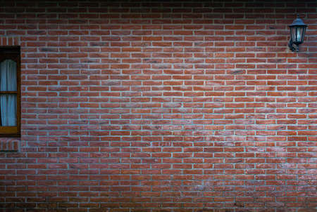 Red brick wall of a house 版權商用圖片