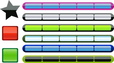 tabs of different colors
