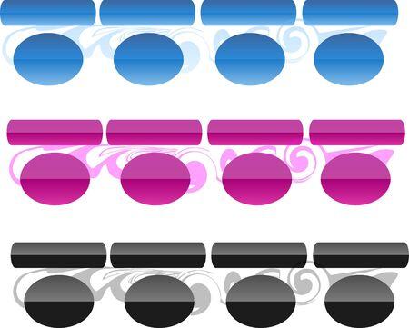 organic templates Stock Photo