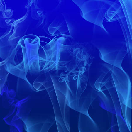 blue flames background Stock Photo - 9389492