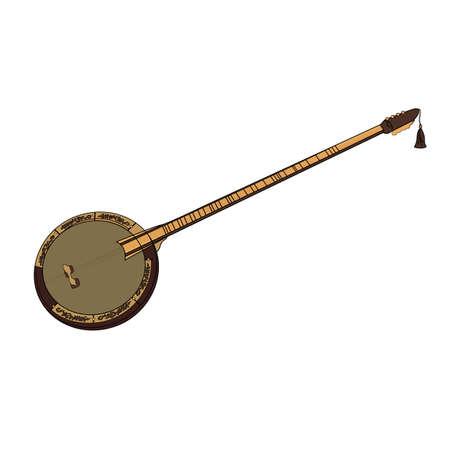 Turkish folklore musical instrument.