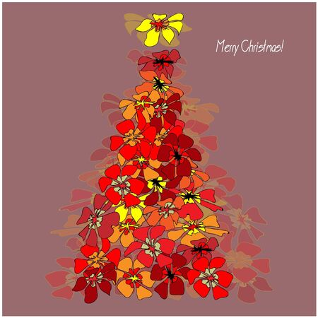 art vector christmas tree Stock Photo - 13007824