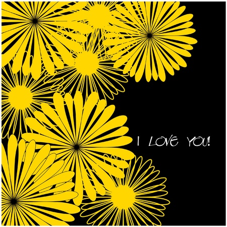 art beautiful floral vector background Stock Photo - 13007826