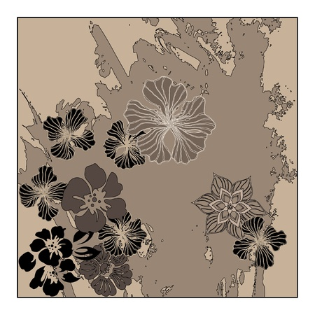 art vintage pattern background  Stock Photo - 13007848
