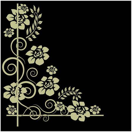 design bad: art vintage pattern background  Stock Photo