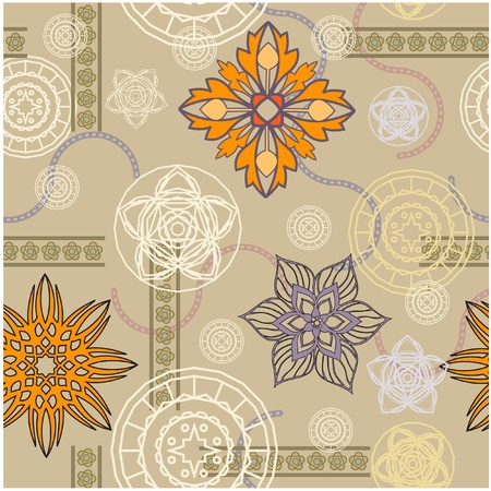 art vintage pattern background  Stock Photo - 13018765