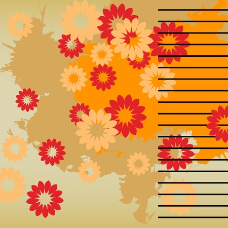 art vintage pattern background  Stock Photo - 13015923