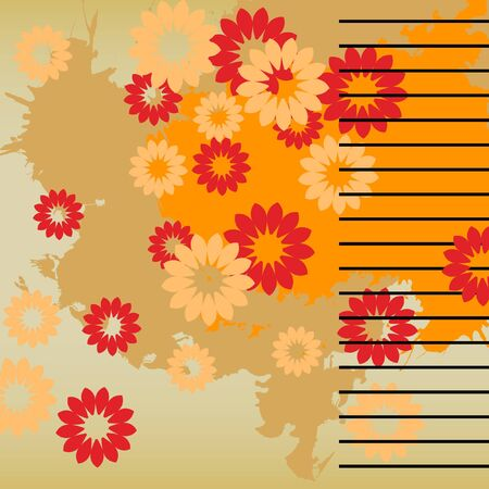 art vintage pattern background  Stock Photo - 13015931