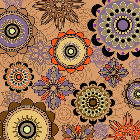 art vintage pattern background Stock Photo - 13019495