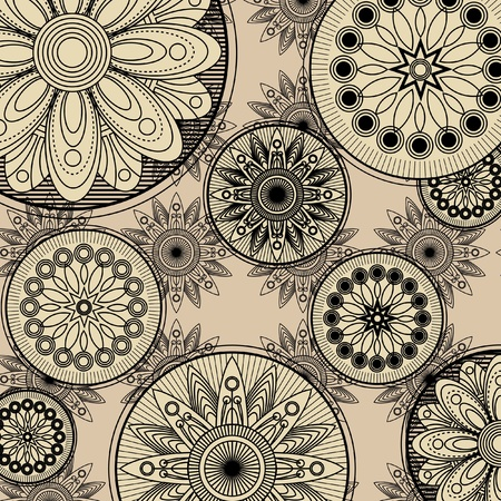 art vintage pattern background  Stock Photo - 13020833