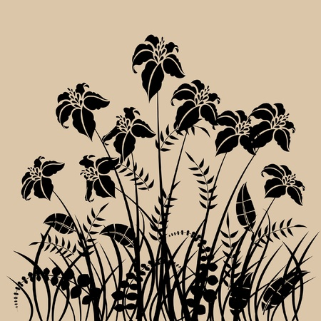 art vintage pattern background  Stock Photo - 13020171