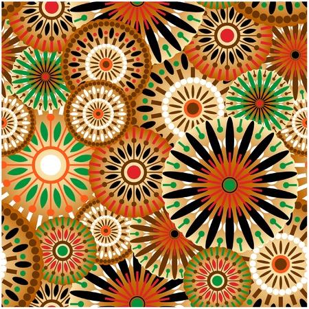 Kunst Vintage patroon achtergrond