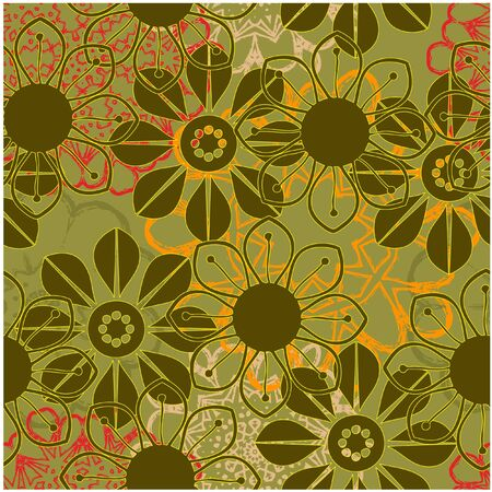 art vintage pattern background  photo