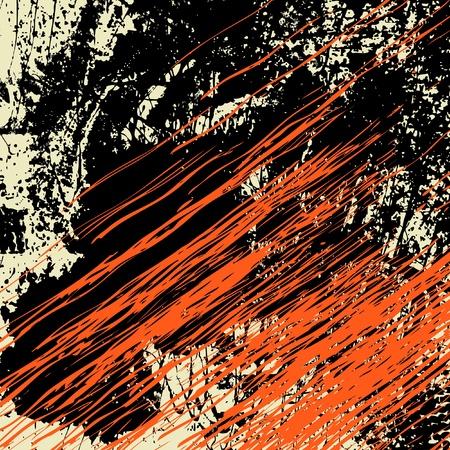 grunge leaf: art vintage pattern grunge background