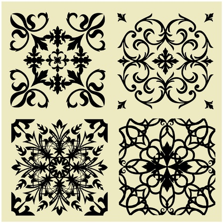 art vintage pattern background Stock Photo - 13133207