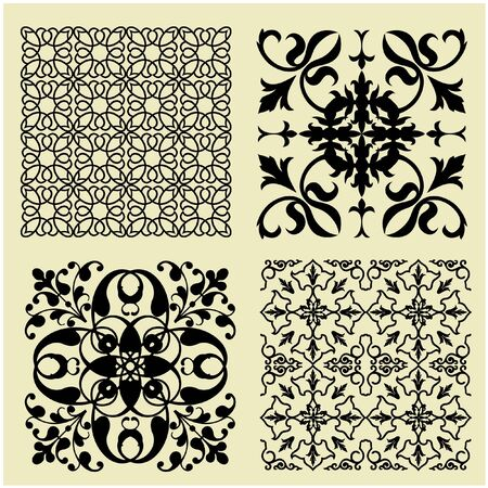 motif pattern: art vintage pattern background