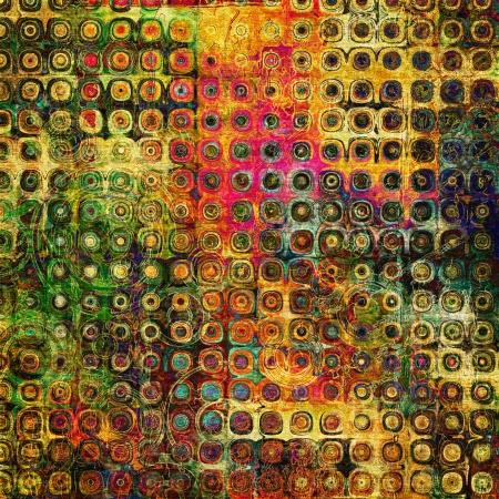 kunst abstract grunge grafische textuur achtergrond Stockfoto