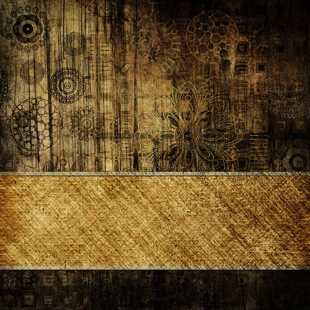 art vintage background with place for text