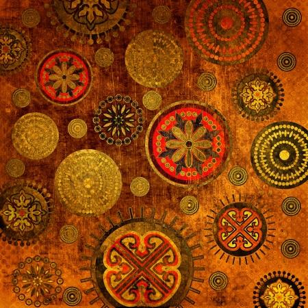 kunst florale versiering grunge achtergrond