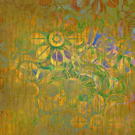 art floral drawing graphic background photo
