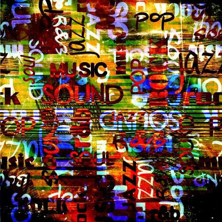 arte moderno: el arte urbano de graffiti fondo de la imagen