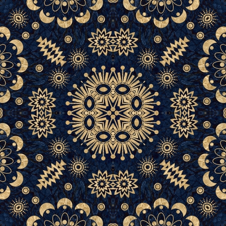 art vintage damask seamless pattern background Stock Photo - 13984839
