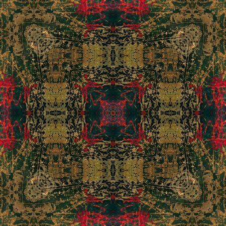 art colorful ornamental vintage pattern photo