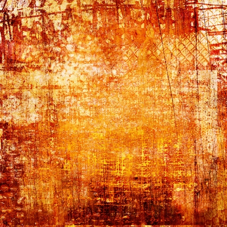 burnt paper: art grunge vintage texture background Stock Photo
