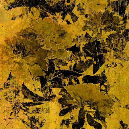 art floral vintage colorful background Stock Photo - 14057815