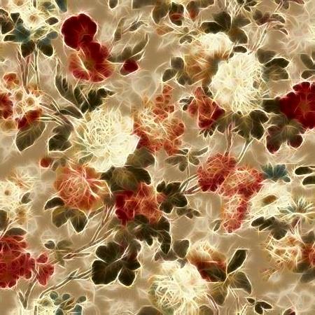 kunst vintage floral patroon achtergrond Stockfoto