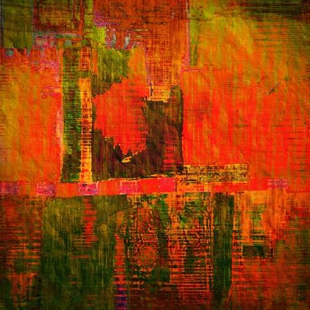 art abstract rainbow pattern background Stock Photo - 14057863