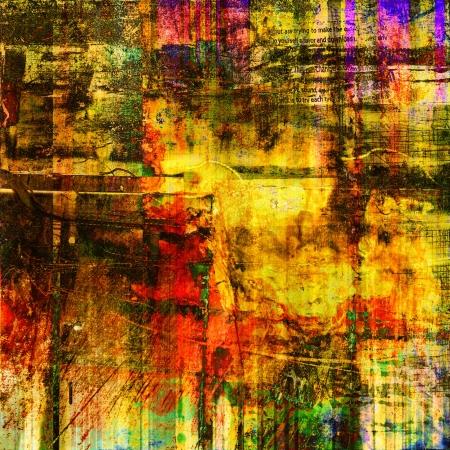 art deco design: art abstract grunge  texture background