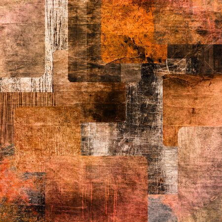 art abstract  grunge squares background  Stock Photo - 14057862