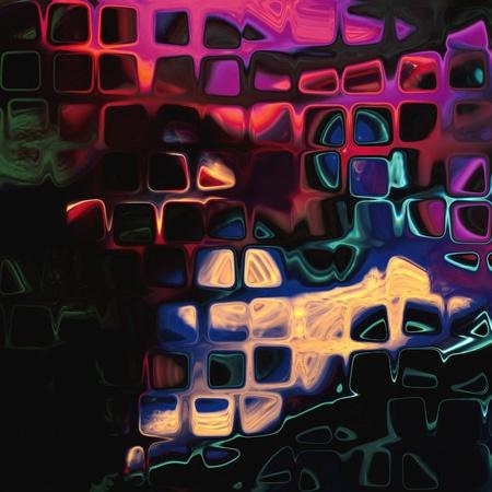 art abstract rainbow geometric pattern background Stock Photo - 14595483