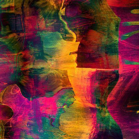 アート抽象的な colorfur の活気のある紙の背景 写真素材