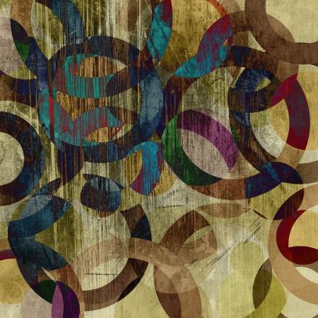 mixed wallpaper: art abstract grunge  texture background