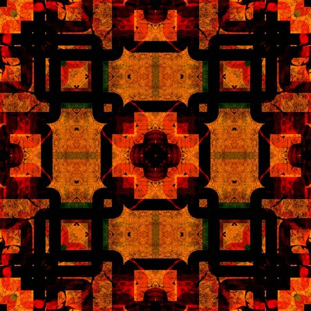 art eastern national traditional pattern Stock Photo - 15061275