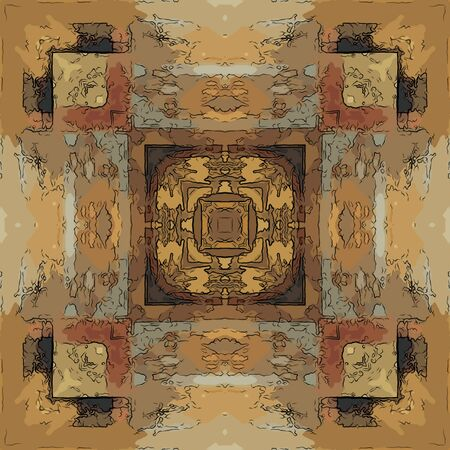 art eastern national traditional pattern Stock Photo - 15060642