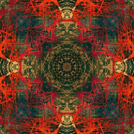 art colorful ornamental vintage pattern Stock Photo - 15105968