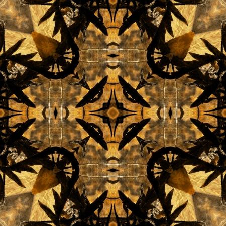 art nuvo colorful ornamental vintage pattern Stock Photo - 15063189