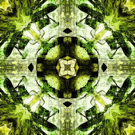nuvo: art nuvo colorful ornamental vintage pattern