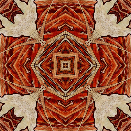 nuvo: art nuvo colorful ornamental vintage pattern