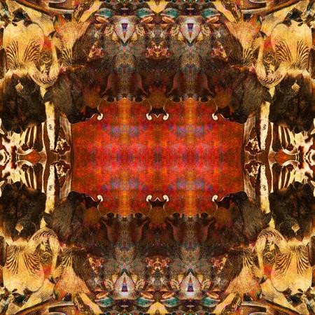 art nuvo colorful ornamental vintage pattern Stock Photo - 15083104