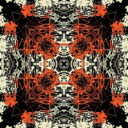 art vintage geometric ornamental pattern Stock Photo - 15082635