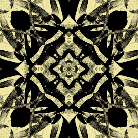 art vintage geometric ornamental pattern Stock Photo - 15083110